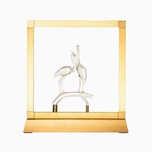 Lampada da tavolo Heron di E-sumi Collection di Simone Crestani