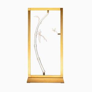 Lámpara de mesa Dragonfly de la colección E-sumi de Simone Crestani