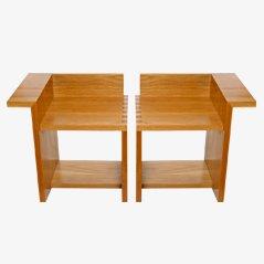 Silla02 Chairs, by espacioBRUT, Set of 2