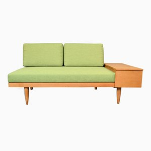 Mid-Century Norwegian Oak Sofa Daybed by Ingmar Relling & Haldor Vik for Ekornes