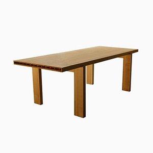ALVEO Tisch mit massiver Wabenplatte
