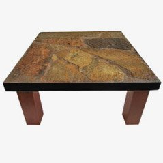 Brutalist Stone Dutch Coffee Table, 1970s
