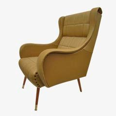 Italian Mid-Centrury Lounge Arm Chair