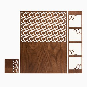 Eatchic 2 Place Mats from Orma, 2006, Set of 3