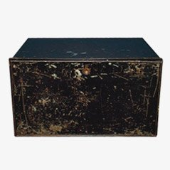 Antique Deed Box from John Pound & Co., 19th Century
