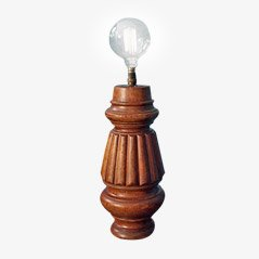 Vintage Table Lamp from a Snooker Table