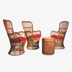 Italian Bamboo Living Room Set