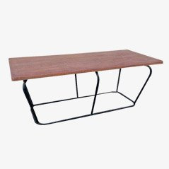 Industrial Metal & Wood Table