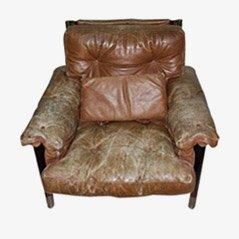 Leather Armchair by Carlo De Carli for Luigi Sormani, 1960