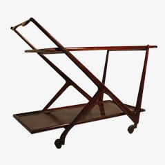 Mid Century Bar Cart by Cesare Lacca, 1950s