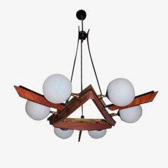 Lampada da soffitto Mid-Century, Italia, anni '50