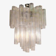 Mid Century Ceiling Lamp by Venini, 1960s