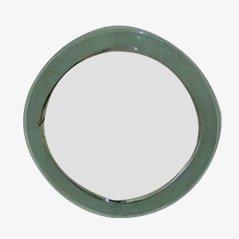 Vintage Italian Grey Mirror, 1970s