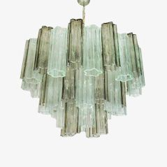 Tronchi Chandelier from Venini, 1950s