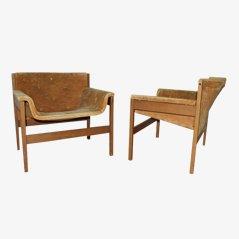 Vintage Sessel, Italien, 1960er, 2er Set