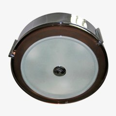 Chrome Steel Ceiling Lamp