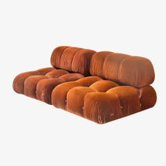 Camaleonda Sofas by Mario Bellini for B&B Italia, 1970, Set of 2