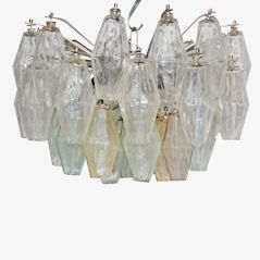 Vintage Ceiling Lamp by Carlo Scarpa for Paolo Venini, 1950s