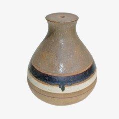 Jarrón de cerámica de Bruno Gambone, años 80