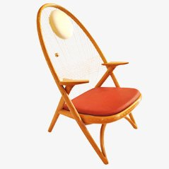 Easy Chair by Helge Vestergaard Jensen for Niels Roth, 1950s