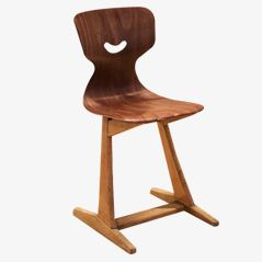 Children's Dining Chair by Adam Stegner for Schulmöbel, 1960s