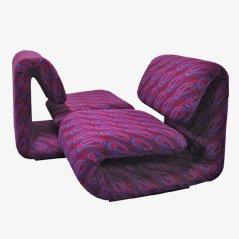 Modell 1500 Sessel von Etienne Henri Martin für Thevenon, 1960s, 2er Set