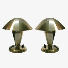 Small Table Lamps from Napako, 1930s, Set of 2