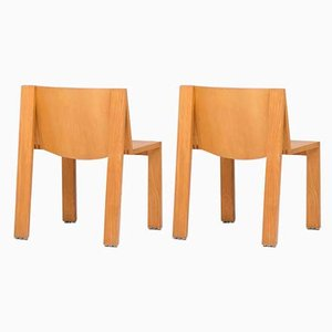 Dutch SE15 Dining Chairs by Pierre Mazairac & Charles Boonzaaijer for Pastoe, 1970s, Set of 2