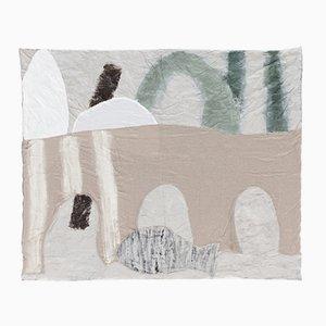 Duvets Horse, Moon and Hill Édition Limitée Peints à la Main par Faye Toogood pour Once Milano, 2017