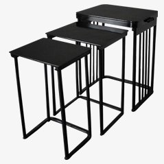 Nesting Tables by Josef Hoffmann for J.& J. Kohn, Set of 3