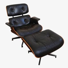 Lounge Chair & Ottoman by Charles & Ray Eames for Herman Miller, 1960s