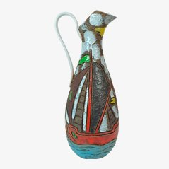 Große Vase von Fratelli Fanciullacci, 1950er