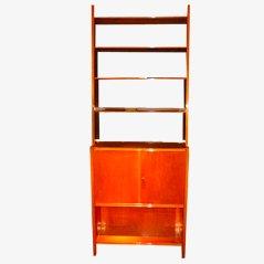 Mueble italiano vintage de madera de arce, años 50