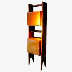 Wild Cherrywood Bookcase, 1950s