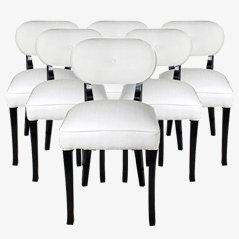 Vintage Chairs by De Coene for Courtrai, 1940s, Set of 6
