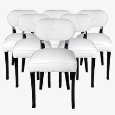 Vintage Stühle von De Coene für Courtrai, 1940er, 6er Set