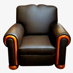 Vintage Club Armchair, 1940s