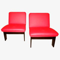 Small Lounge Chairs by A. García, 1970s, Set of 2
