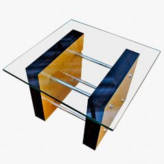 Art Deco Italian Coffee Table, 1930s