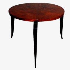 Tavolino rotondo vintage, anni '40