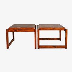 Tables Basses Vintage Cubiste, Set de 2