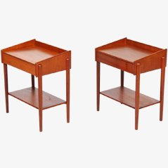 Danish Nightstand by Børge Mogensen, Set of 2