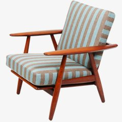 GE240 Easy Chair by Hans J. Wegner, 1950s