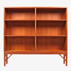 Bookcase by Børge Mogensen for Søborg Møbelfabrik, 1950s
