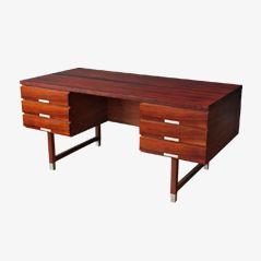EP 401 Rosewood Desk by Kai Kristiansen for Feldballes Møbelfabrik