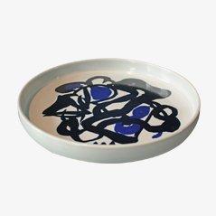 Plato de cerámica de Mogens Andersen para Royal Copenhagen, 1979