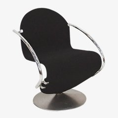 Lounge Chair by Verner Panton for Fritz Hansen, 1970s