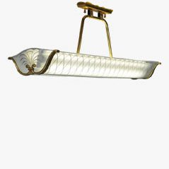 French Suspension Light from House Lunel, 1960s