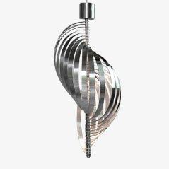 Lampe à Suspension Mid-Century Hélicoïdale par Henri Mathieu pour Lyfa