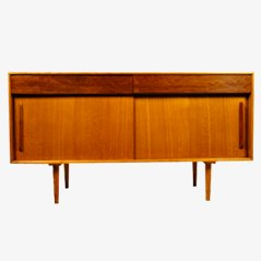 Cherry Wood Sideboard by Robin Day for Hille